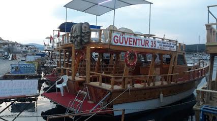 Güven Tur Gezi Teknesi (Seferihisar Sığacık Tekne turu gezi teknesi bot balık turu organizasyon)