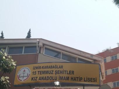 İzmir Karabağlar 15 Temmuz Şehitler Kız Anadolu İmam Hatip Lisesi