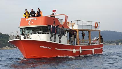 Kosovalı gezi ve tur teknesi