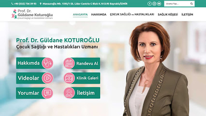Prof. Dr. Güldane Koturoğlu - İzmir Çocuk Sağlığı ve Hastalıkları Uzmanı